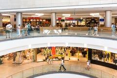 Alameda de compras de Debrecen del foro Fotografía de archivo