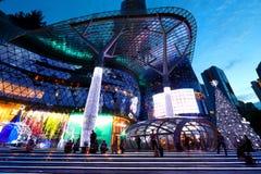Alameda de compras de ION Orchard Singapur Fotos de archivo