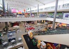Alameda de compras de la ciudad del SM en Clark Fotos de archivo