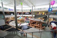 Alameda de compras de la ciudad del SM en Clark Imagen de archivo libre de regalías