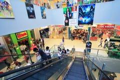 Alameda de compras de la ciudad del SM en Clark Foto de archivo libre de regalías