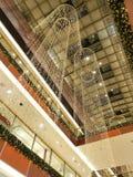 Alameda de compras de la Navidad fotografía de archivo
