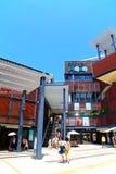 Alameda de compras de la plaza de Stanley, Hong-Kong Fotos de archivo libres de regalías