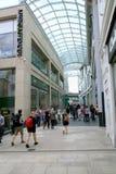 Alameda de compras de la trinidad, Leeds Foto de archivo libre de regalías