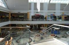 Alameda de compras de la zona de restaurantes Koreatown Los Ángeles 2015 Fotos de archivo libres de regalías