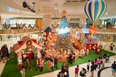 Alameda de compras de los elementos Foto de archivo libre de regalías