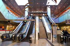 Alameda de compras de los elementos, Hong-Kong Imágenes de archivo libres de regalías