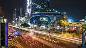 Alameda de compras de MBK, Bangkok, Tailandia Imagenes de archivo