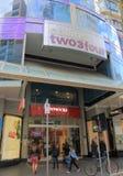 Alameda de compras de Melbourne Australia Imágenes de archivo libres de regalías