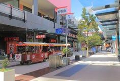 Alameda de compras de Melbourne de los Docklands Foto de archivo libre de regalías