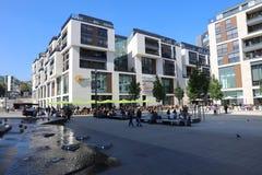 Alameda de compras de Milaneo stuttgart Imagen de archivo