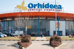 Alameda de compras de Orhideea Imágenes de archivo libres de regalías