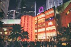 Alameda de compras de Suria en Kuala Lumpur, Malasia Fotografía de archivo libre de regalías