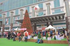 Alameda de compras de Taipei 101 Taipei Taiwán Imágenes de archivo libres de regalías