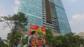 Alameda de compras del centro de Vincom en Ho Chi Minh, Vietnam