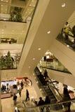 Alameda de compras del día de fiesta imagen de archivo