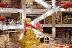 Alameda de compras del pabellón Fotografía de archivo libre de regalías