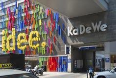 Alameda de compras en Berlín Imagen de archivo