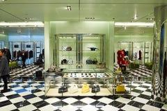 Alameda de compras en Hong-Kong Fotos de archivo