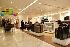 Alameda de compras en Hong-Kong Fotografía de archivo libre de regalías