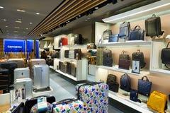 Alameda de compras en Hong-Kong Imágenes de archivo libres de regalías