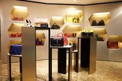 Alameda de compras en Hong-Kong Foto de archivo