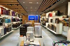 Alameda de compras en Hong-Kong Foto de archivo libre de regalías
