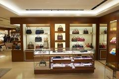 Alameda de compras en Hong-Kong Fotografía de archivo