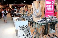 Alameda de compras en Kuta, Bali Imagen de archivo libre de regalías