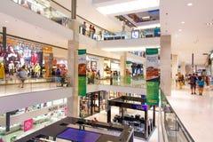 Alameda de compras enorme en Kuala Lumpur Fotos de archivo libres de regalías