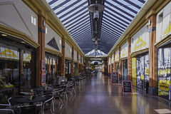 Alameda de compras interior Fotografía de archivo