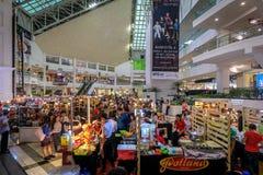 Alameda de compras de Makati Glorietta el 4 de septiembre de 2017 en el metro Manila, P Fotos de archivo libres de regalías