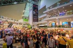 Alameda de compras de Makati Glorietta el 4 de septiembre de 2017 en el metro Manila, P Foto de archivo libre de regalías