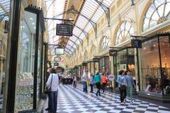 Alameda de compras Melbourne Imagenes de archivo