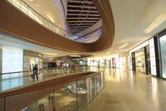 Alameda de compras moderna Imagenes de archivo