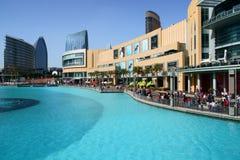 Alameda de Dubai Imagenes de archivo