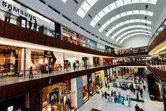 A alameda de Dubai Foto de Stock