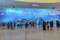 A alameda de Dubai Imagem de Stock Royalty Free