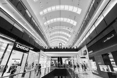 A alameda de Dubai Imagem de Stock