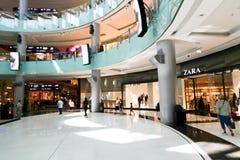Alameda de Dubai do shopping Foto de Stock