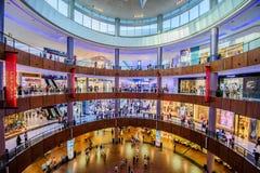 Alameda de Dubai, Dubai, UAE Imagem de Stock Royalty Free