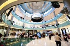 Alameda de Dubai, Dubai, UAE Fotos de Stock Royalty Free