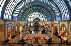 Alameda de emiratos Imagen de archivo libre de regalías