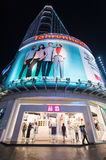Alameda de Fahrenheit 88 em Bukit Bintang, Kuala Lumpur Imagens de Stock