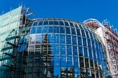 Alameda de Galeria Katowicka sob a construção Foto de Stock Royalty Free