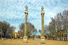Alameda de Hercules, Seville Royalty Free Stock Images