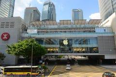 Alameda de IFC e IFC1 edificio, Hong Kong Island Fotos de archivo libres de regalías