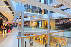 Alameda de Ifc, Hong Kong Fotos de Stock
