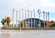 Alameda de la bahía del festival de Orlando Foto de archivo