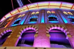 Alameda de las arenas de Barcelona fotografía de archivo